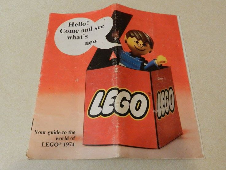 Your Guide to the World of Lego 1974 Booklet