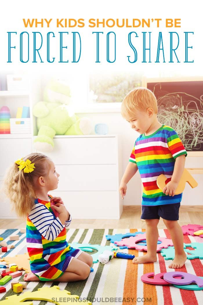 Why You Shouldn T Force Kids To Share And What To Do Instead