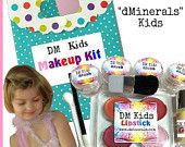This little girls play makeup kit will give them hours of fun without all those toxins that so many little girls makeup kits have in them !