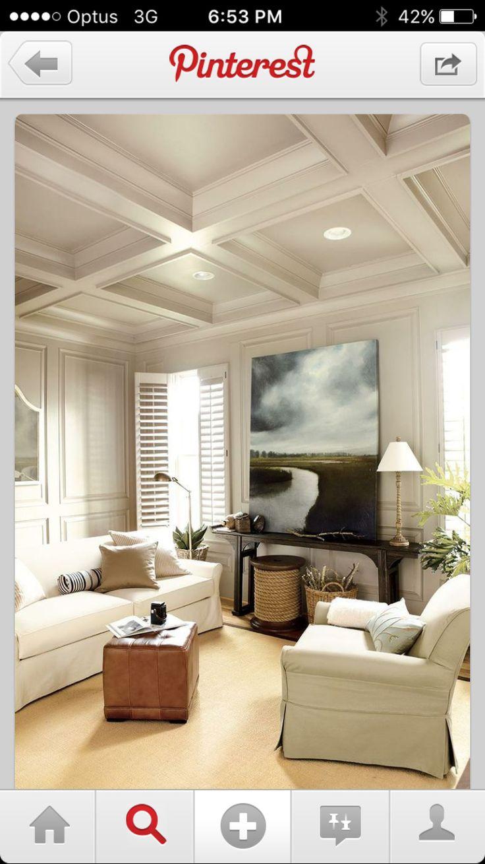Panel beam ceiling