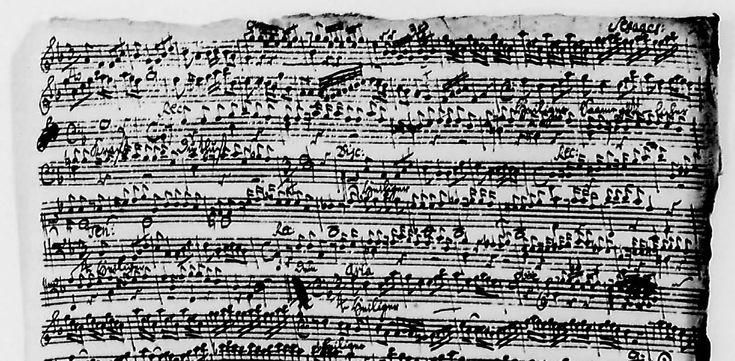 J.S. Bach manuscript - Google zoeken
