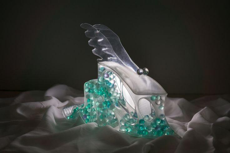 Sea Dweller Shoe Sculpture Design by Shannon Choo