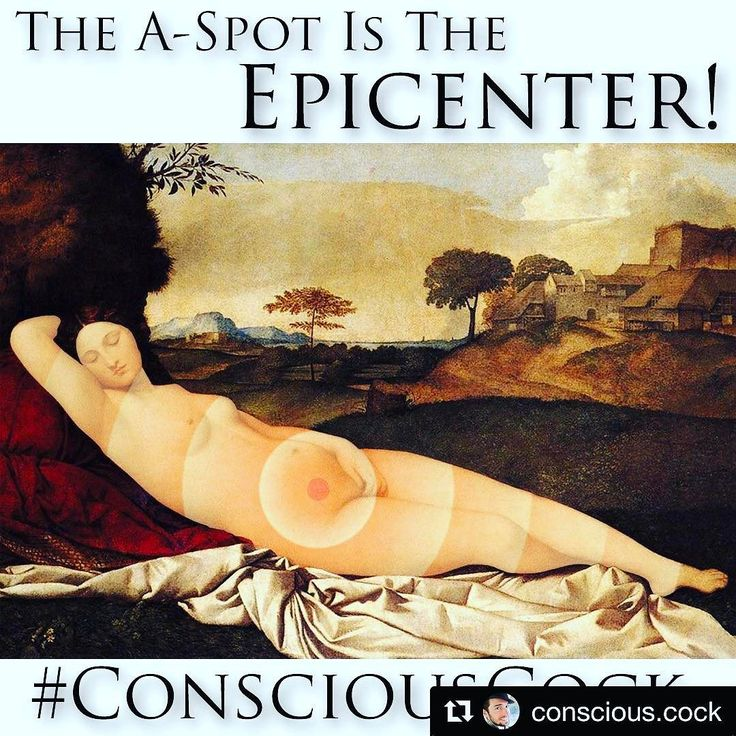 #Repost @conscious.cock with @repostapp  The A-Spot & Cervix are called the Epicenter because they produce earth-shattering orgasms and their source is the deepest part inside the woman's temple.  Most women never get to experience these life-altering org