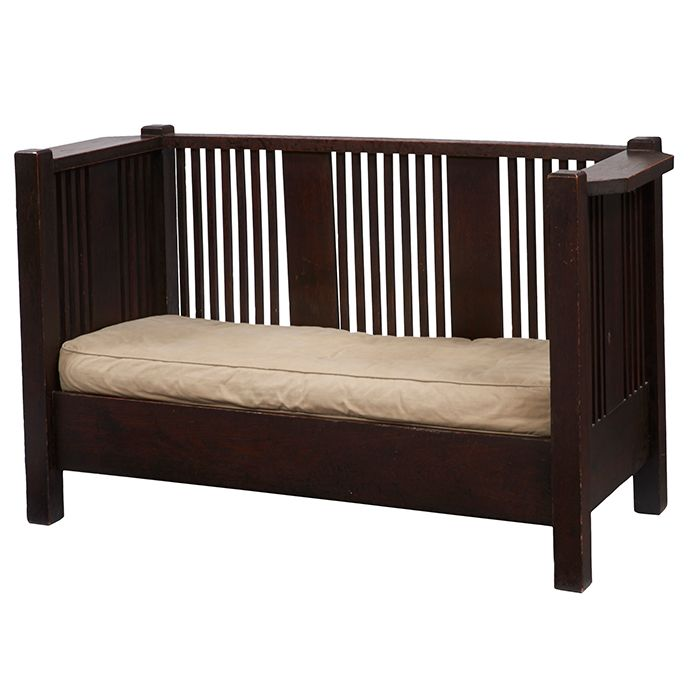 92 best arts crafts furniture images on pinterest for Arts and crafts daybed