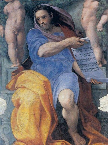 Profeta Isaia - Raffaello Sanzio - Chiesa di Sant'Agostino