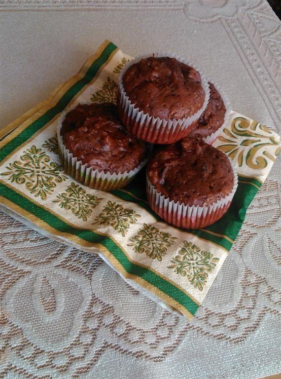 Muffinki czekoladowe - muffiny z czekoladą   WINIARY