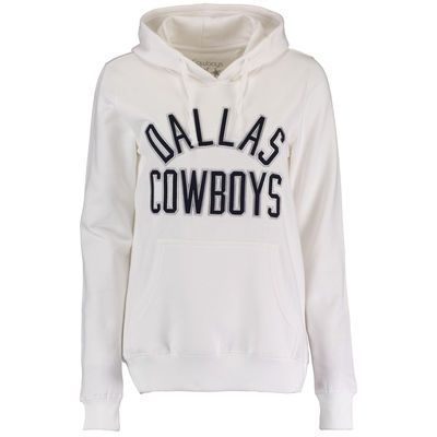 Dallas Cowboys Women's Sparrow Pullover Hoodie - White