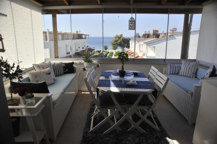 ..coastal style...sahil evi stili...