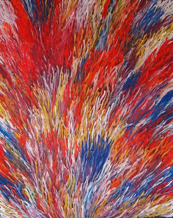 Grass Seed (BW-1009) by Barbara Weir http://merindahart.com.au/artists/barbara-weir
