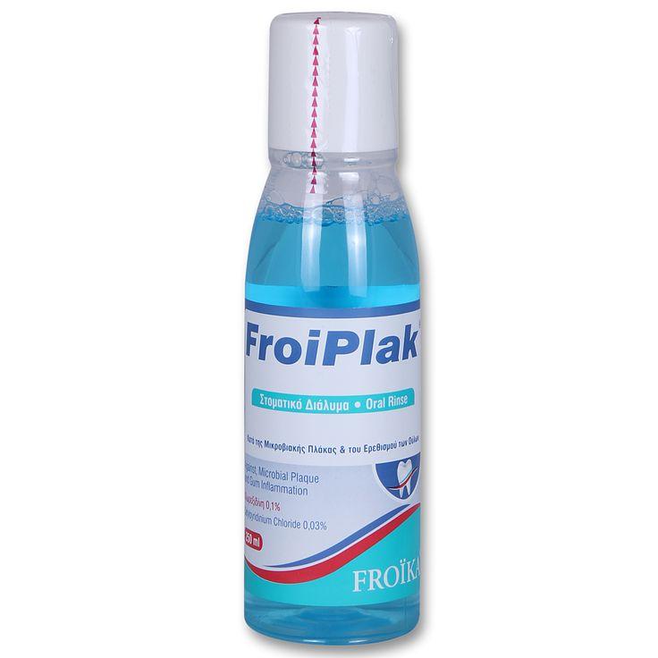 Froika Froiplak Mouthwash Στοματικό Διάλυμα Κατά της Μικροβιακής Πλάκας & του Ερεθισμού των Ούλων 250ml. Μάθετε περισσότερα ΕΔΩ: https://www.pharm24.gr/index.php?main_page=product_info&products_id=13202