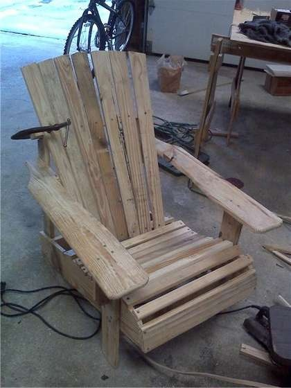 Diy Adirondack Rocking Chair Plans Woodworking Projects
