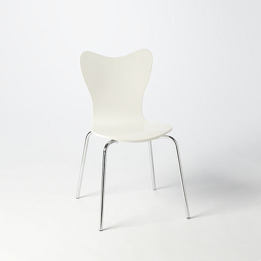 Scoop Back Chair   White   West Elm