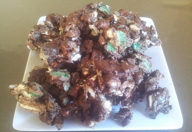 Mint lovers heaven (rocky road) - Real Recipes from Mums
