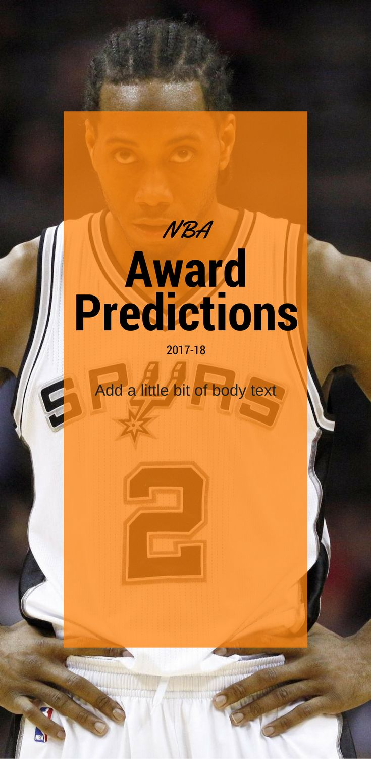 Which NBA player will win MVP, Rookie of the Year, Defensive Player of the Year, Sixth Man of the Year, Most Imroved Player?
