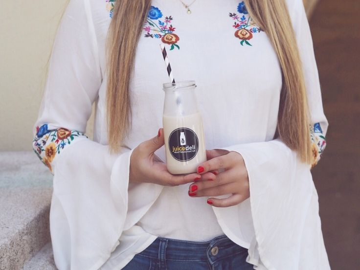 boohoo spring blouse and an update on my 8 days juice cleanse