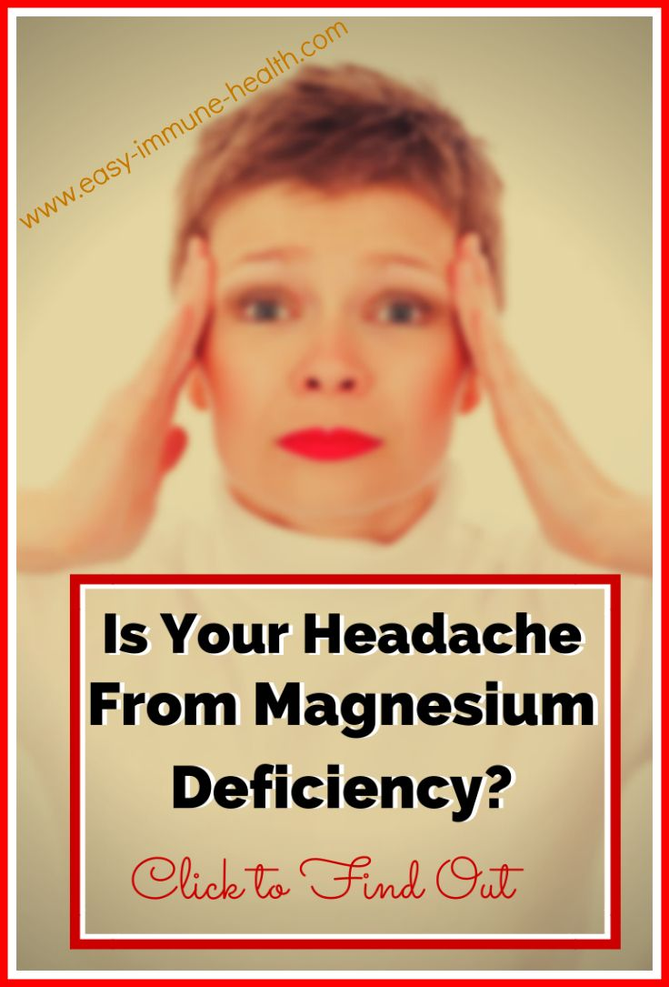 how to get rid of one sided headache