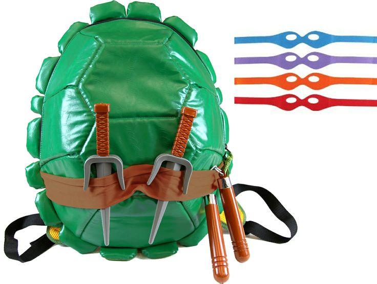 Shaunna or Hillary for XMAS.   Teenage Mutant Ninja Turtles Combat Gear Shell Backpack  $45.00