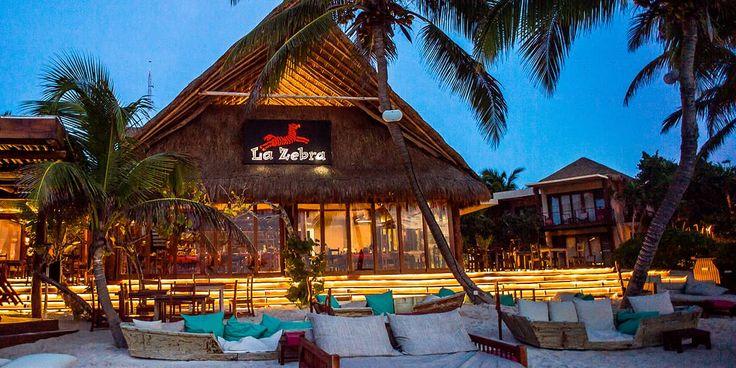 La Zebra Tulum Luxury Hotel Restaurant
