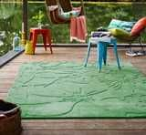 Esprit - Lily 3800-07 Green Rugs | Modern Rugs
