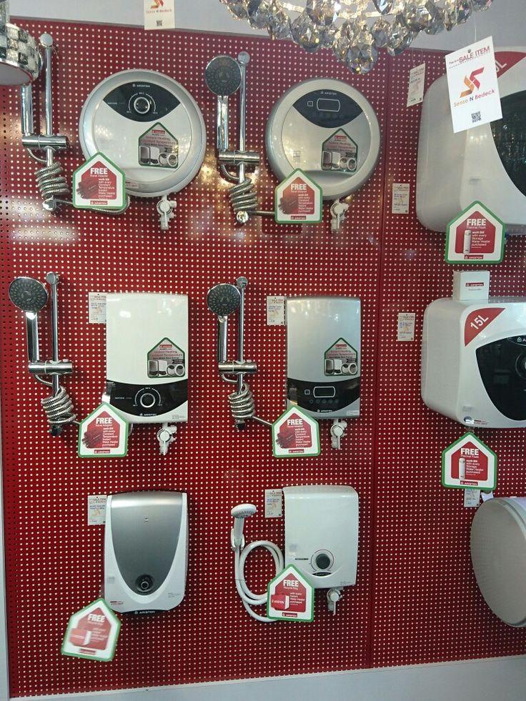 Ariston instant water heaters