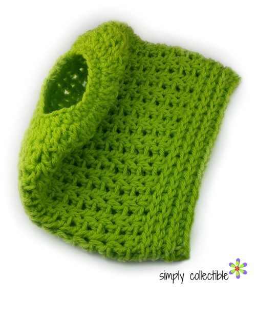 Fácil Peasy Messy Bun Hat crochet padrão 2-em-1 - gorro completo, também
