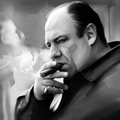 James Gandolfini- Tony Soprano
