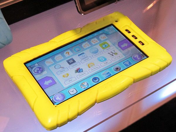 Kurio 7 Children's Tablet, No more worries of kids breaking your device or buying apps. Looks neat to me ^_^