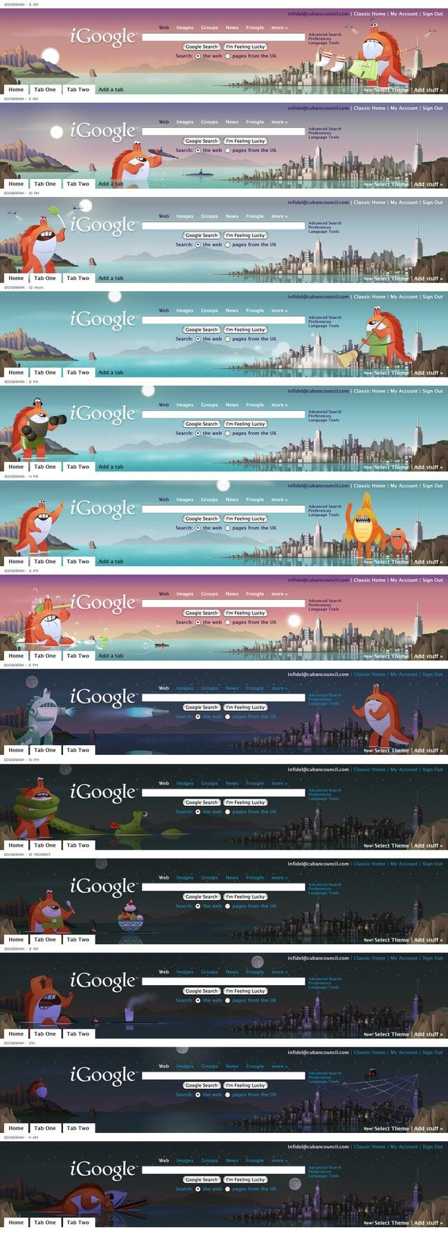 Google themes that move -  Google Y U No Move Dynamic Themes To Google Chrome Igoogle Themes Lolz Absurdities Nerdities And Oddities Pinterest Google Chrome