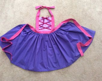 Disney Princess Inspired Rapunzel Dress Up Apron
