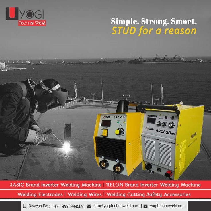 STUD Welder from RELON Brand is packed with ultra features which makes it unique and sturdy product of Yogi Technoweld.   #RELONBrandMMAWInverterWeldingMachine #RELONBrandMMAWInverterWeldingMachineexportersinAhmedabad #RELONBrandMMAWInverterWeldingMachineexportersinGujarat #RELONBrandMMAWInverterWeldingMachineexportersinIndia