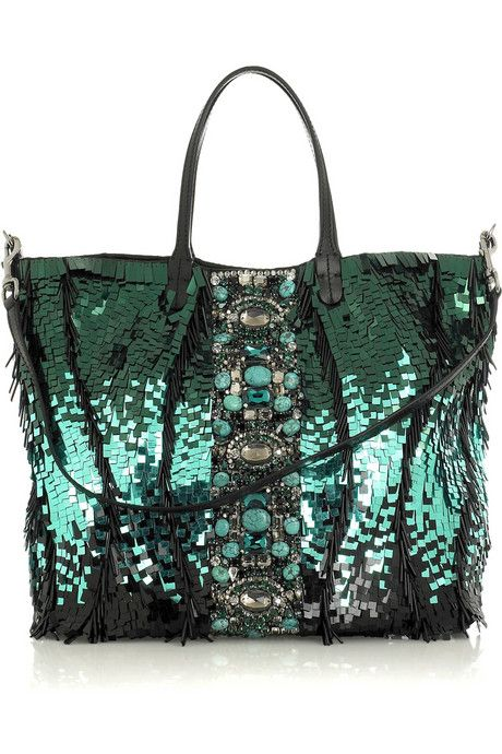 Valentino Paillette-Embellished bag - Gorgeous