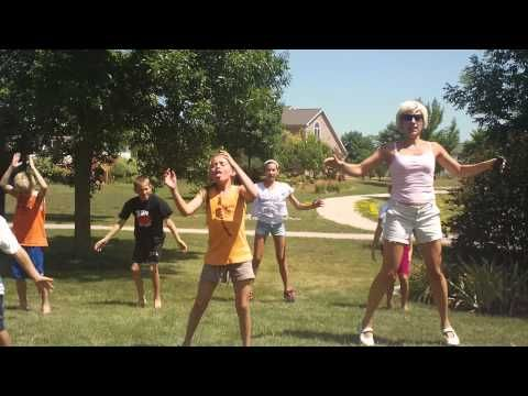 Five Minute Exercise Video for Kids! - YouTube. Can be done inside for a rainy or winter day.