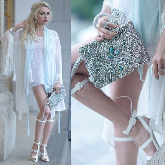Jessica Buurman Sandals, Zara Shirt
