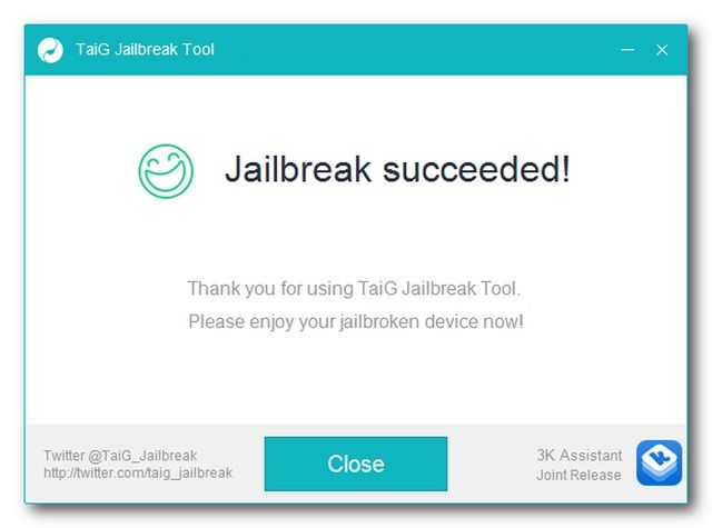 TaiG Jailbreak Utility Updated to Fix Stuck at 20% Issue, Virtual Machine Problems, More - http://iClarified.com/50089 - The TaiG Jailbreak utility for iOS 8.3 has been updated to fix numerous issues including the problem of getting stuck at 20% while jailbreaking.
