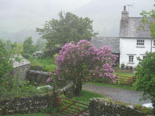 Foggy Cottage, Lake District, England photo via dan