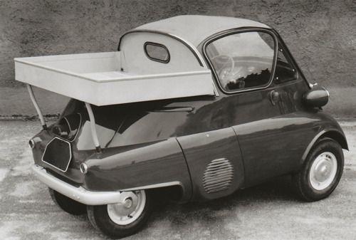 1957-1960 BMW Isetta 300- Factory Built Pick-Up.   I LOVE ISETTAS!!!!       (Mena    =)