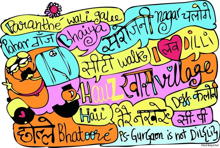 delhi scenes for little blackbook delhi .