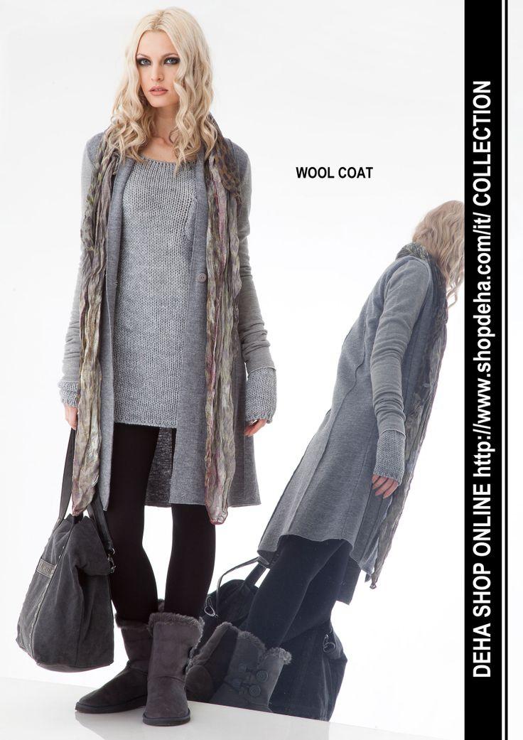 Per il vostro shopping online #DEHA #wool #coat http://www.shopdeha.com/it/ http://www.shopdeha.com/it/collection/162-cappottino.html