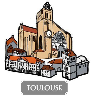 Toulouse - boardgame Pélotone1903