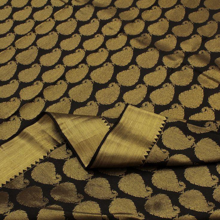 Sarangi Handwoven Kanjivaram Silk Saree - 180120550 from Sarangi * Feel Beautiful