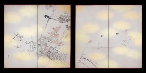 "VIP Art - ""Helena Markus Antique Japanese Screens"""
