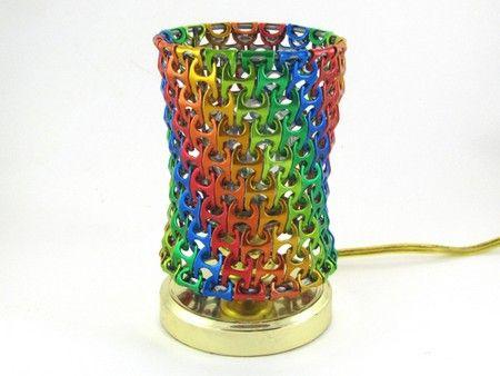 10 lampade dalle lattine di alluminio