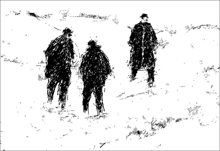 """H e n n i n g H o l m N i e l s e n. PC-drawing. LANDSCAPE and PEOPLE. """"in the Dunes"""""""