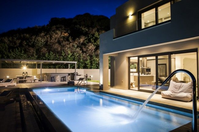 Villa Christina is an ultra modern luxury holiday home, offering complete privacy, excellent facilities and private access to the sea
