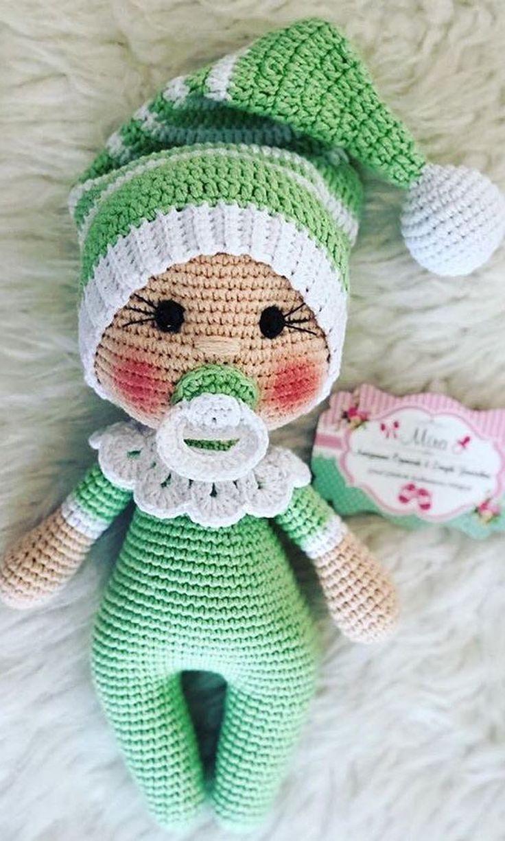 Amigurumi Doll Free Pattern | Crochet dolls free patterns, Crochet ... | 1226x736