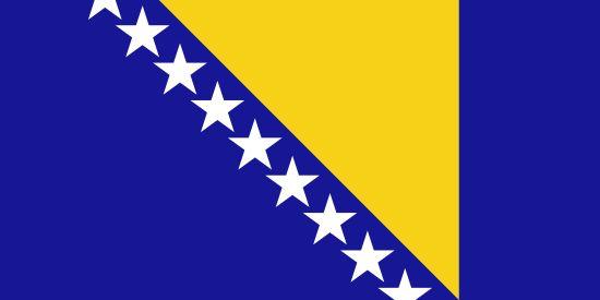 Bandera de Bosnia y Herzegovina PaísBosnia y HerzegovinaCapitalSarajevoPoblación3.791.622 (2013)Área total51.197 km2Declarada1. 3. 1992Punto más altoMaglić (2.386 m)PIB$ 8.127 (FMI, 2012)Monedamarco bosnioherzegovino (BAM)