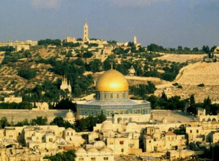 TO THE HOLY LAND! :P Jerusalem
