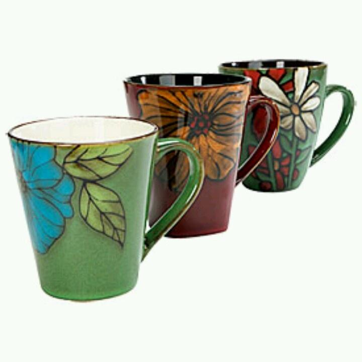 Pretty Coffee Mugs Coffee Mugs I Love Pinterest