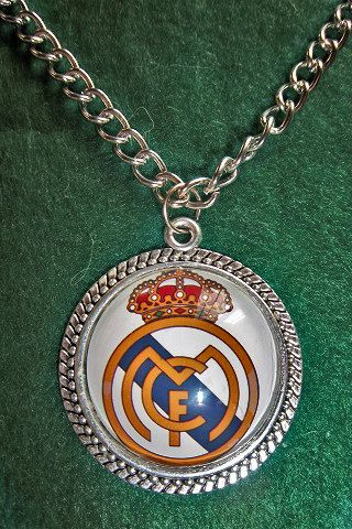 Real Madrid C.F. soccer teams pendant  sport by sportpendants