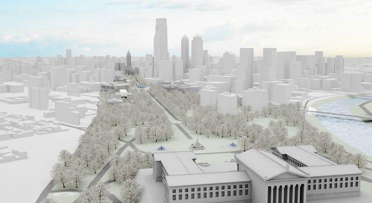 Interactive Benjamin Franklin Parkway Map – With Art Philadelphia™